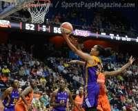 WNBA - CT Sun 72 vs. LA Sparks 77 (46)
