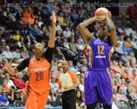 WNBA - CT Sun 72 vs. LA Sparks 77 (50)