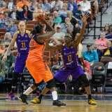 WNBA - CT Sun 72 vs. LA Sparks 77 (57)