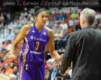 WNBA - CT Sun 72 vs. LA Sparks 77 (67)