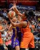 WNBA - CT Sun 72 vs. LA Sparks 77 (9)