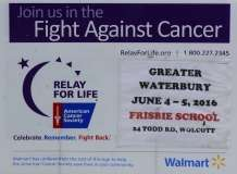 2016 Greater Waterbury Relay For Life (2)