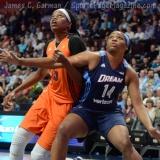 WNBA Connecticut Sun 77 vs Atlanta Dream 83 (36)