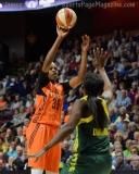 WNBA Connecticut Sun 77 vs Seattle Storm 76 (32)