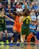 WNBA Connecticut Sun 77 vs Seattle Storm 76 (33)