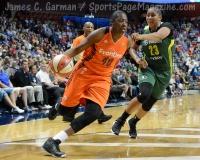 WNBA Connecticut Sun 77 vs Seattle Storm 76 (41)
