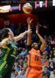 WNBA Connecticut Sun 77 vs Seattle Storm 76 (9)