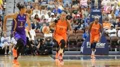 WNBA Connecticut Sun 92 vs Los Angeles Sparks 98 - (18)