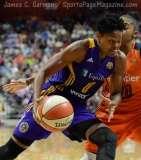 WNBA Connecticut Sun 92 vs Los Angeles Sparks 98 - (25)