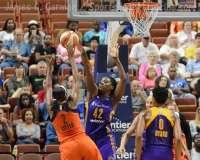 WNBA Connecticut Sun 92 vs Los Angeles Sparks 98 - (30)