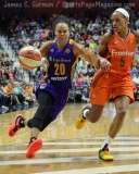 WNBA Connecticut Sun 92 vs Los Angeles Sparks 98 - (42)