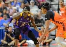 WNBA Connecticut Sun 92 vs Los Angeles Sparks 98 - (44)