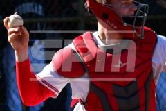04-06 CIAC BASE; Wolcott vs. Woodland - Photo # 127