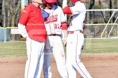04-06 CIAC BASE; Wolcott vs. Woodland - Photo # 903