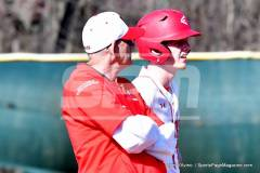 04-06 CIAC BASE; Wolcott vs. Woodland - Photo # 984