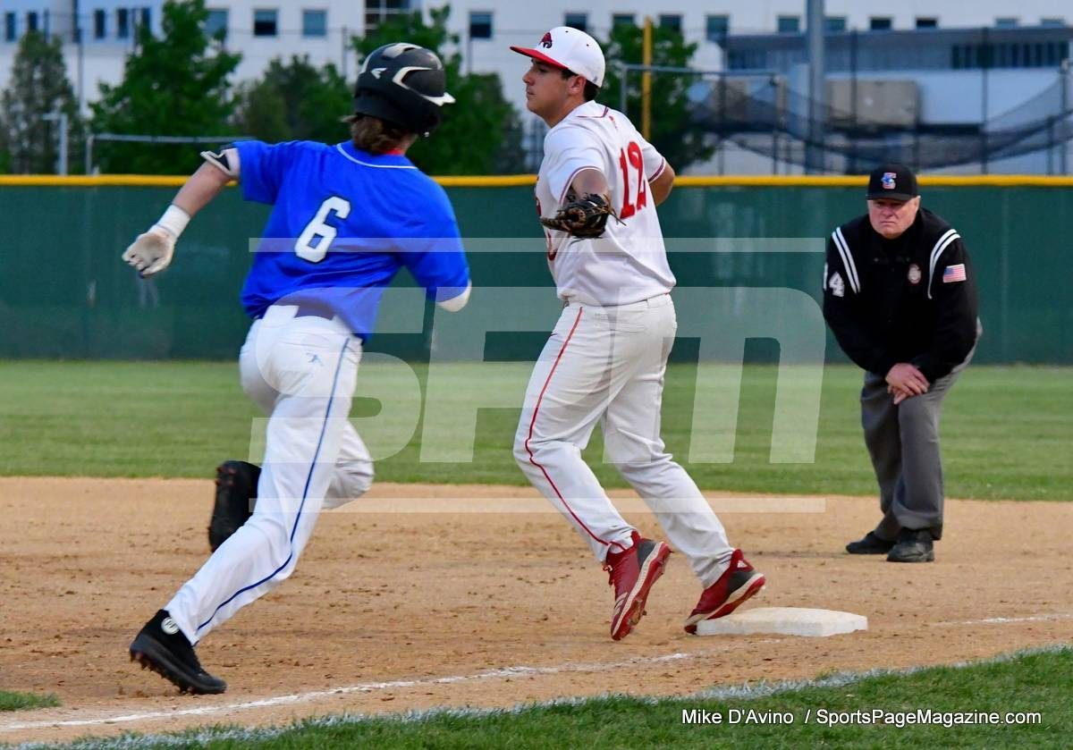 05-22 Gallery CIAC BASE; Wolcott vs. ST. Paul - NVL T. SF's - Photo # 918