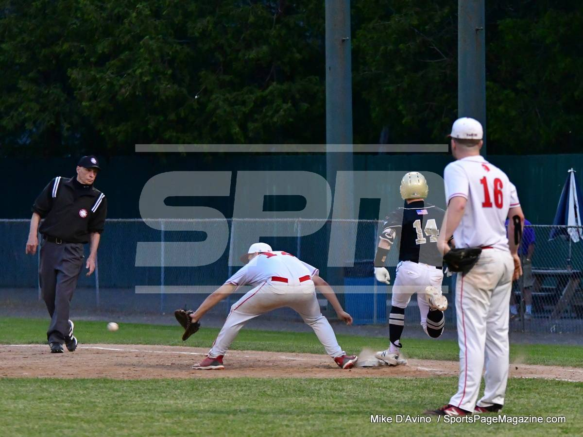 06-04 CIAC T. BASE, SF's; #1 Wolcott 3 vs. #5 Woodland 2 - Photo # 1311