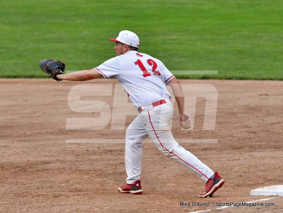 06-04 CIAC T. BASE, SF's; #1 Wolcott 3 vs. #5 Woodland 2 - Photo # 878
