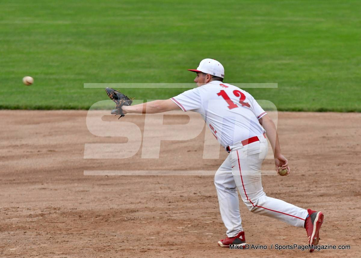 06-04 CIAC T. BASE, SF's; #1 Wolcott 3 vs. #5 Woodland 2 - Photo # 879