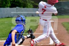 06-01 CIAC BASE; Wolcott 8 vs. Haddam-Killingworth 0 - Photo # 841