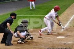 06-04 CIAC T. BASE, SF's; #1 Wolcott 3 vs. #5 Woodland 2 - Photo # 1439