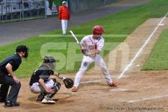 06-04 CIAC T. BASE, SF's; #1 Wolcott 3 vs. #5 Woodland 2 - Photo # 1444