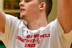 CIAC Boys Basketball; Torrington vs. Wolcott, Pregame - Photo # (32)
