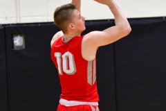 CIAC Boys Basketball; Watertown 63 vs. Wolcott 73 - Photo # 170