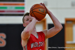 CIAC Boys Basketball; Watertown 63 vs. Wolcott 73 - Photo # 329