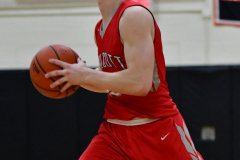 CIAC Boys Basketball; Watertown 63 vs. Wolcott 73 - Photo # 471