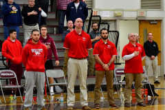 CIAC Boys Basketball; Wolcott 47 vs. Greenwich 76 - Photo # 132