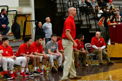 CIAC Boys Basketball; Wolcott 47 vs. Greenwich 76 - Photo # 179