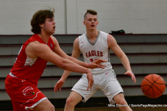 CIAC Boys Basketball; Wolcott 47 vs. Greenwich 76 - Photo # 291