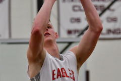 CIAC Boys Basketball; Wolcott 47 vs. Greenwich 76 - Photo # 519