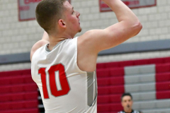CIAC Boys Basketball; Wolcott 69 vs. East Hampton 63 - Photo # 624