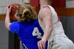 CIAC Boys Basketball; Wolcott 69 vs. East Hampton 63 - Photo # 663