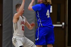 CIAC Boys Basketball; Wolcott 69 vs. East Hampton 63 - Photo # 750