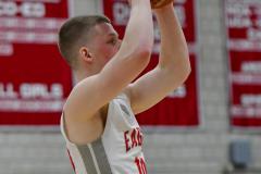 CIAC Boys Basketball; Wolcott 69 vs. East Hampton 63 - Photo # 853