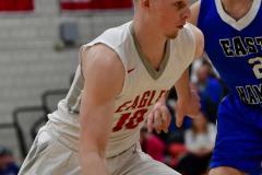 CIAC Boys Basketball; Wolcott 69 vs. East Hampton 63 - Photo # 867