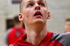 CIAC Boys Basketball; Wolcott 81 vs. Oxford 74 - Photo # 094