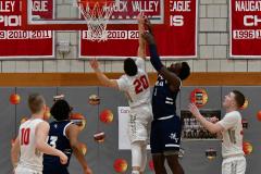 CIAC Boys Basketball; Wolcott vs. Ansonia - Photo # (221)