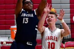 CIAC Boys Basketball; Wolcott vs. Ansonia - Photo # (242)