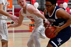 CIAC Boys Basketball; Wolcott vs. Ansonia - Photo # (246)