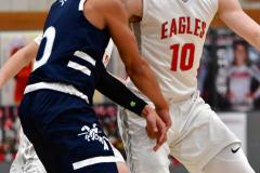 CIAC Boys Basketball; Wolcott vs. Ansonia - Photo # (490)