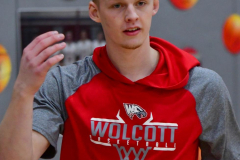 CIAC Boys Basketball; Wolcott vs. Ansonia, Pregame - Photo # (68)