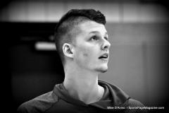 CIAC Boys Basketball; Wolcott vs. Ansonia, Pregame - Photo # (76)