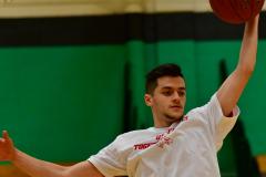 CIAC Boys Basketball; Torrington vs. Wolcott, Pregame - Photo # (5)