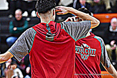 CIAC Boys Basketball; Watertown 63 vs. Wolcott 73 - Photo # 119