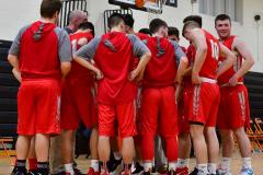 CIAC Boys Basketball; Watertown 63 vs. Wolcott 73 - Photo # 140