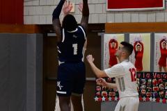 CIAC Boys Basketball; Wolcott vs. Ansonia - Photo # (302)